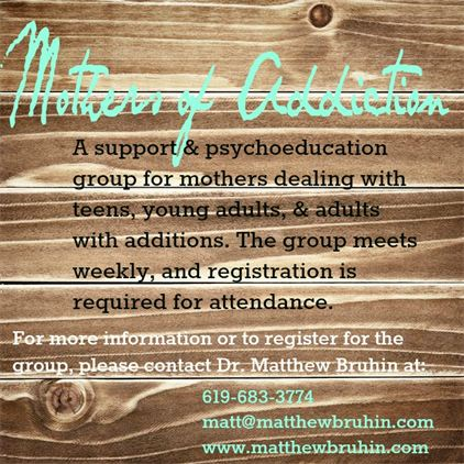 mothers of addiction support group